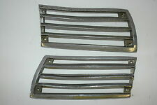 Porsche 911 SWB Horn Grille Left and Right Issues 4 Hole 90155943127 90155943227