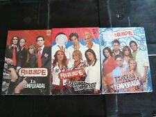 RBD rebelde 10 dvd`s(3 seasons) includes video clips Anahi Dulce Perroni MEXICO