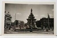 India Flora Fountain Photo Postcard H10