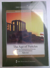 The Great Courses The Age of Pericles, Part 1&2, DVDs w/ Book, New Sealed