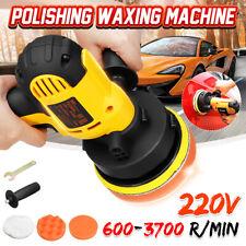 7Pcs 700W Electric Polishing Machine Car Polisher Tool Kit Buffer Waxer Plate