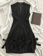 New ALAIA Paris Dress - 38 Lana Wool - Black