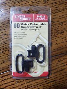 "Uncle Mike's 1403-2 Swivel 1"" NEW QD Quick Detachable"