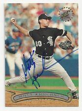 Autographed/Signed 1996 Stadium Club #85/Matt Karchner/Chicago White Sox