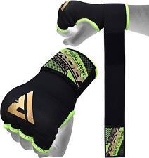 RDX Boksbandage Hand Wraps Binnenste Handschoenen MMA Fitness Groen NL L