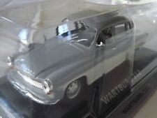 New model - Wartburg 312 Saloon - IXO IST 1:43 - Grey & White DDR East Germany