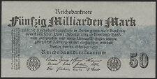 Ro.122c 50 millones de marcos 1923 (1 -) gris