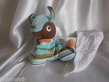 Doudou âne, cheval, poney et son mouchoir blanc, Sucre d'Orge,Cajou