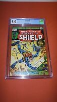 SHIELD #1 Nick Fury and his Agents of Shield *CGC 9.0* Steranko Cover Marvel '73