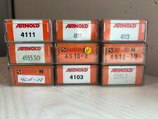 Arnold N - verschiedene Bierwagen / Güterwagen Vitrinenmodelle in OVP