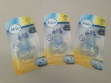 3 x Febreeze / Ambi Pur Car Anti Tobacco Refill, Air Freshener 70 Days