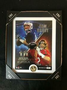 Tom Brady 10 Super Bowls Bronze Coin Photo Mint NFL Licensed by Highland Mint