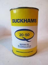 Duckhams pint Oil Tin. Esso. BP. Regent Castrol.