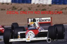 Decal Mclaren MP4/5 1989 1/43 Senna Prost minichamps F1