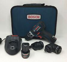 Bosch GSR12V-140FC Cordless Screwdriver 12V  5-In-1 Multi-Head Power Drill Set