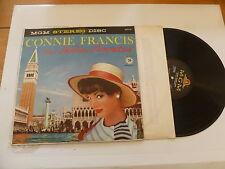 CONNIE FRANCIS - Sings Italian Favorites - Rare original 1960 US 14-track LP