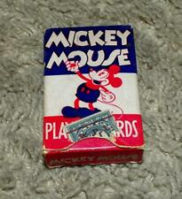 "DISNEY1936 MICKEY MOUSE""PLAYING CARD""BOXED SET-COMPLETE N. MINT SET+GOOFY JOKER!"