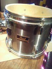 "Pearl 12"" tom drum silver chrome"