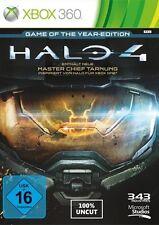 Xbox 360 halo 4 Game of the Year Edition OVP como nuevo