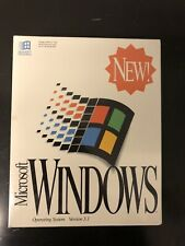 Microsoft Windows Operating System Version 3.1-Collectors Item-Minor Box Damage