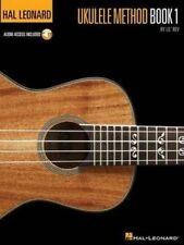 Hal Leonard Ukulele Method Book/Audio Online Uke Tuning Chords Scales TAB NEW!