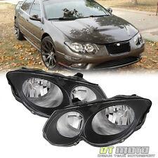 Black 99-04 Chrysler 300M Replacement Headlights Pair Light Left+Right 1999-2004