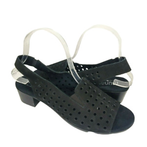 Munro Women's Mickee Cushioned Footbed Arch Support Slingback Sandals Size 8.5N