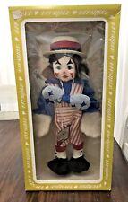 1979 Effanbee Faith Wick Clown Doll w/ Original Box & Tag