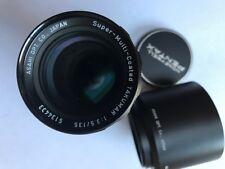 Pentax Takumar 135mm Lens - Mint + Film Tested