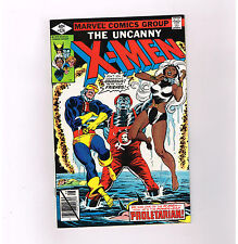 "UNCANNY X-MEN #124 Grade 9.2 Bronze Age find! ""He Only Laughs when I Hurt!"""