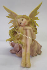 17cm Fairy Sitting Ornament Suits Fairy Garden Or Birthday Cake Topper BG8201