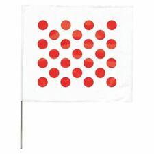 Zoro Select 4518Rw28544-200 Marking Flag,Red/White,Vinyl,Pk10 0