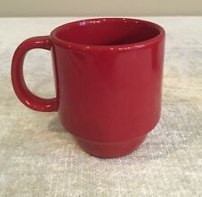 Mainstays Stackables Red Coffee Mug Stoneware