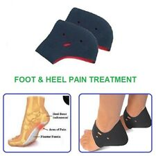 2 x Ankle Heel Cushioning Pads Sleeve Supports Plantar Fasciitis Pain Treatment