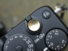 Selens Shutter Button Soft Release Metal Concave Copper Fuji X-T2 XE3 X-Pro3