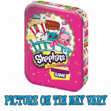 Topps Shopkins Trading card game Mini tin (incl 3 packs + a limited edition)