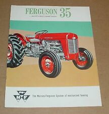 Massey-Ferguson 35 Tractor Brochure