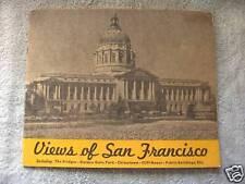 1930's Views Of San Francisco, California Book