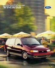 1998 Ford Windstar minivan new vehicle brochure (2nd)