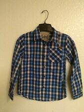 LEE Boys Long Sleeve Button Up Shirt