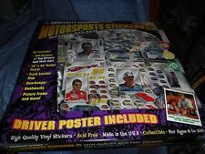 ksm NOS Motorsports Stickers Road to the Cup 1998 Jeff Gordon Poster Stickers Mo