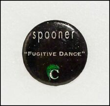 Spooner Fugitive Dance Original 90's Promo Button Pin Badges