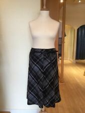 Check Plus Size A-line Skirts for Women