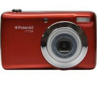 Ultra Compact 20MP Digital Camera With 20X Optical Zoom Lens Polaroid ITT28-Red