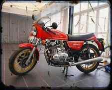 Benelli 504 Sport 80 2 A4 Metal Sign Motorbike Vintage Aged