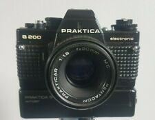 Praktica B200 Camera Body With Pentacon Prakticar 50mm 1:1.8 MC Practica B Lens