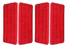 4 x Microfiber Pads For Trigger  Water Spraying Mop, Flat Spray Mop