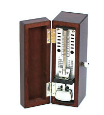 Wittner taktell super mini pendulum metronome mahogany wooden case free postage