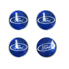 Car Logo Sticker 65mm Wheel Covers Alloy Wheels Set Of 4 Pcs High Quality Ford