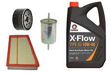 Oil Air Fuel Fiter Renault Scenic 1.6 1.4 16v Petrol Service Kit with oil